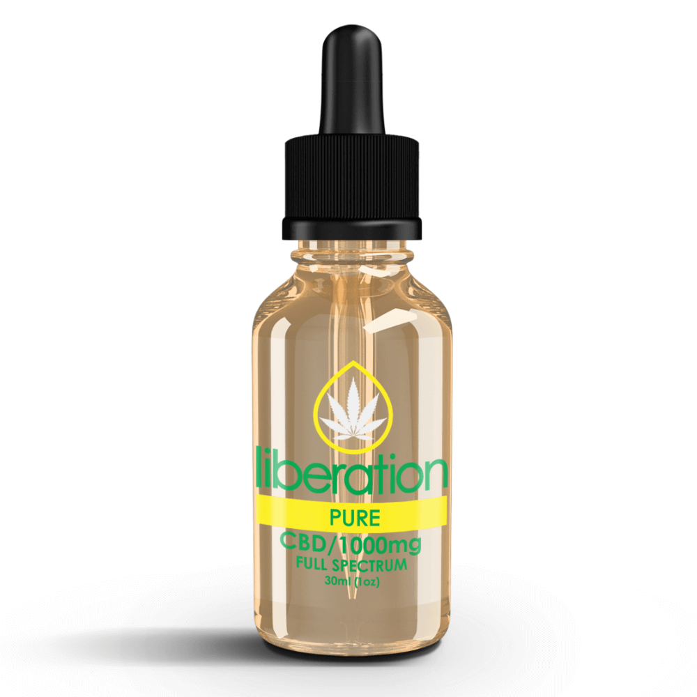 Pure CBD Oil - Liberation Products
