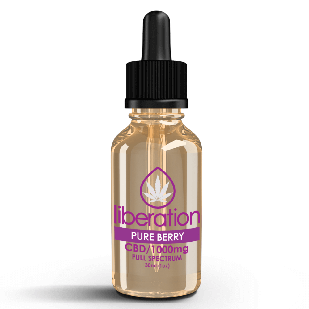 Pure Berry CBD Oil - Liberation Products