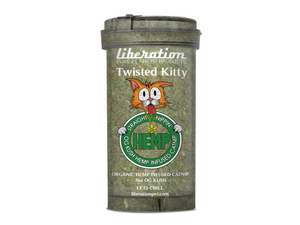 Twisted Kitty Hemp Catnip
