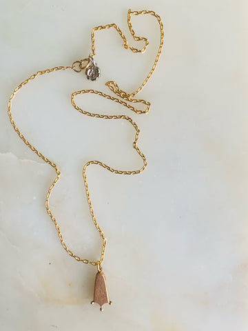 Unearthed Talisman Necklace- Footprint