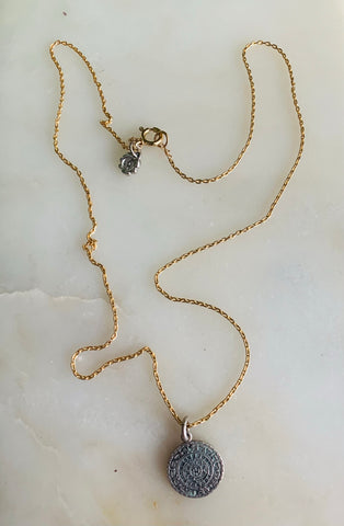 Unearthed Talisman Necklace-Time