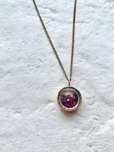 RUBY STARDUST NECKLACE