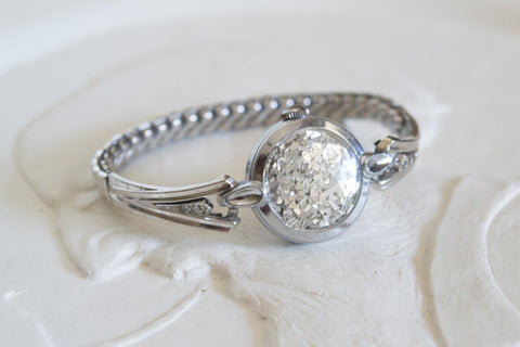 SILVER DIAMOND ACCENT FAIRYDUST BAND