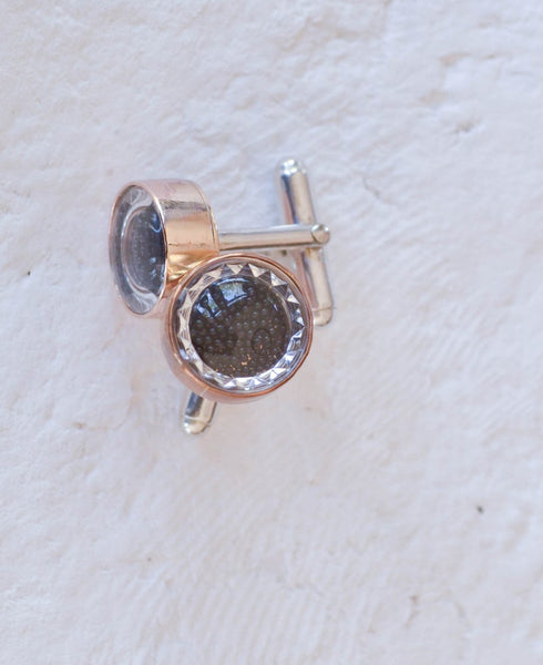 CAVIAR CUFF LINKS