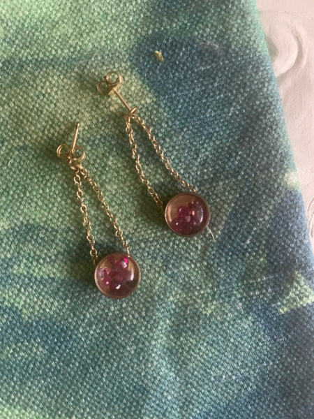 UNEARTHED Fill My Heart, Ruby Earrings