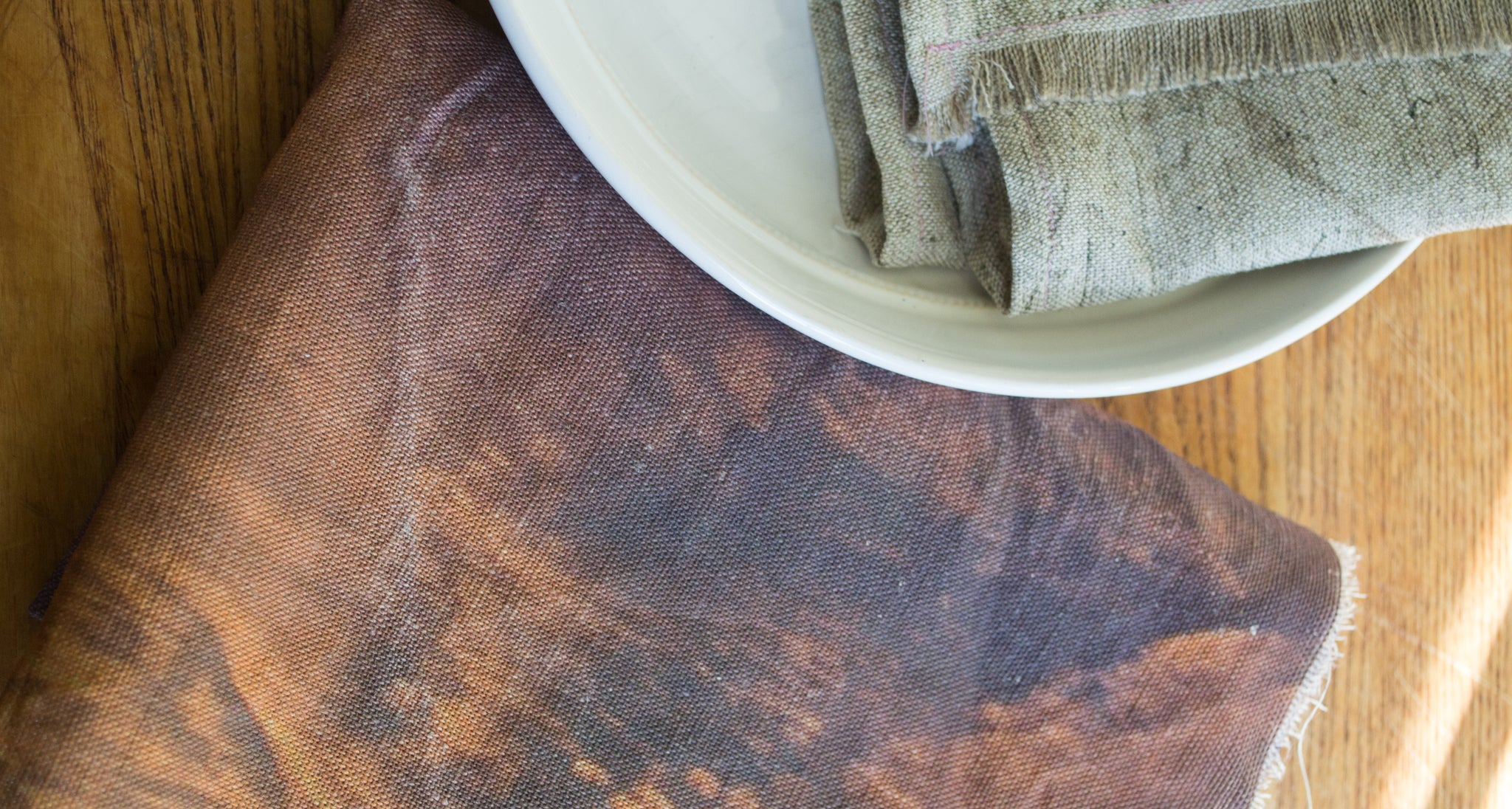 Fall Kitchen Towel, Sunset