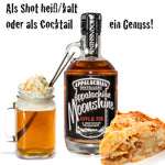 Appalachian Moonshine Apple Pie als Shot oder Cocktail mit Dekoration