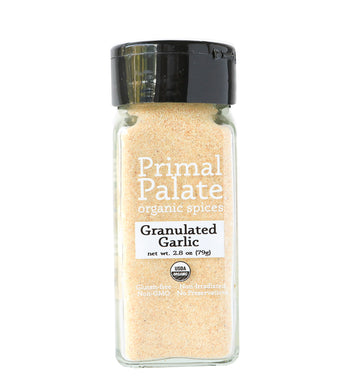 Organic Granulated Garlic