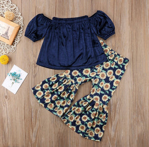 Sunflowers outfit - Sabela Chic
