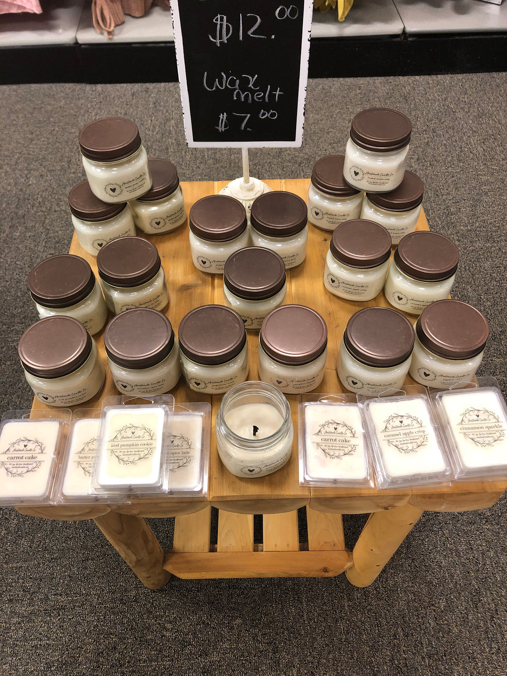 Heartmade candles - Sabela Chic