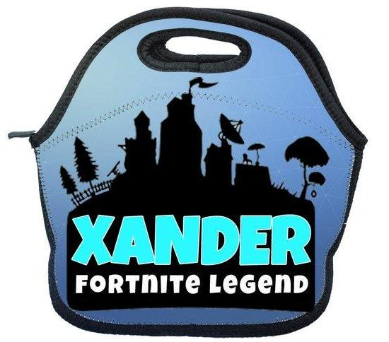 Custom Fortnite Lunch Box Personalized Fortnite Lunch Tote