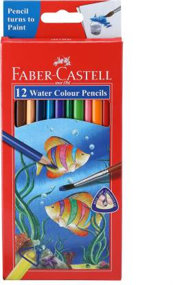 Faber-Castell 12 Water Colour Pencil