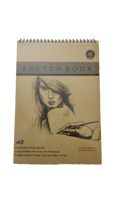 Sketch Book- A3 (God's Grace)