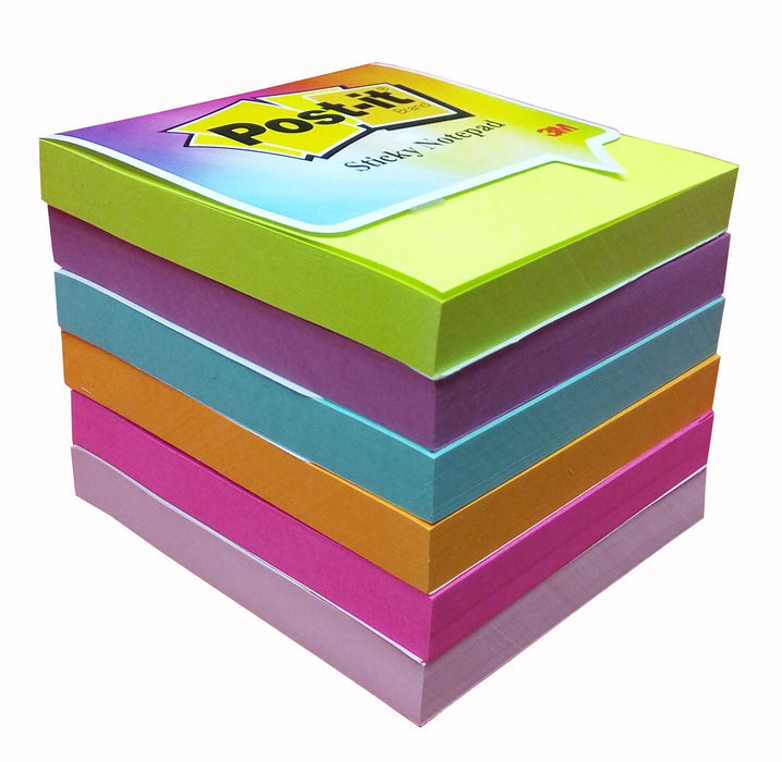 3M Post-it Sticky Notes Color Pack ( Pack of 6 )
