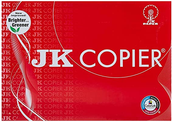 JK Copier 75 GSM A4 500 Sheets