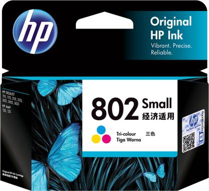HP 802 COLOR (SMALL) CARTRIDGE
