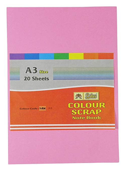Lotus A3 multi - use color sheets (20 sheets)