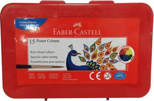 Faber-Castell Poster Color Box of 15