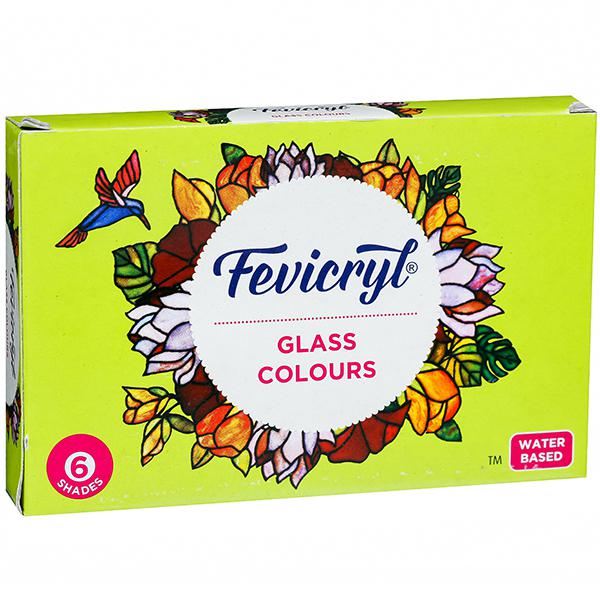Fevicryl Glass Colours 6 shades