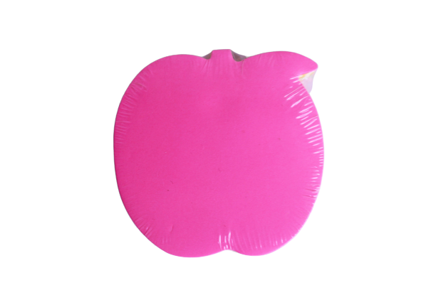 Apple Shaped Stick Notes (5 colors in 1)