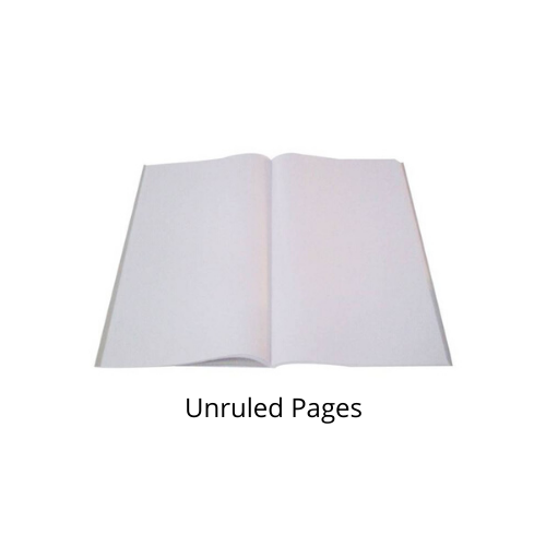 Classmate Exercise Book- Unruled (240 Pages) Pack of 6