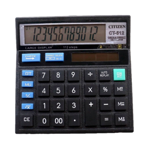Citizen Electronic Calculation CT512 (New version)