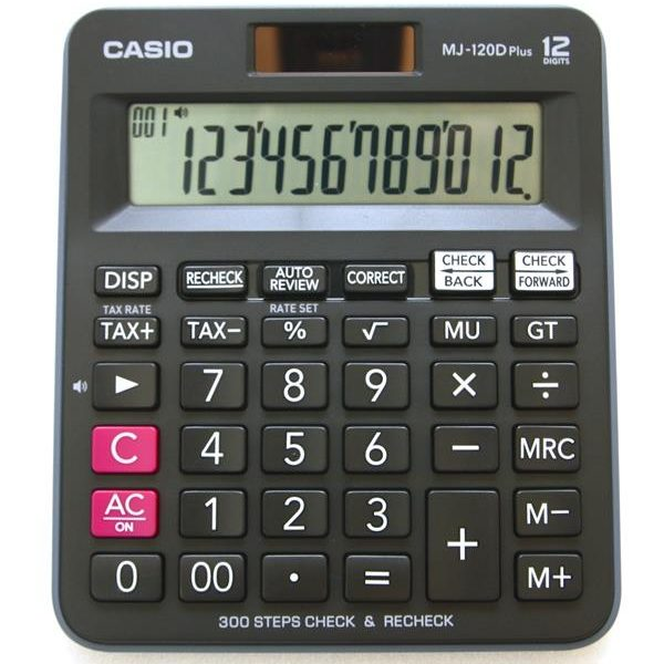 Casio Electronic Calculator- MJ-120D plus
