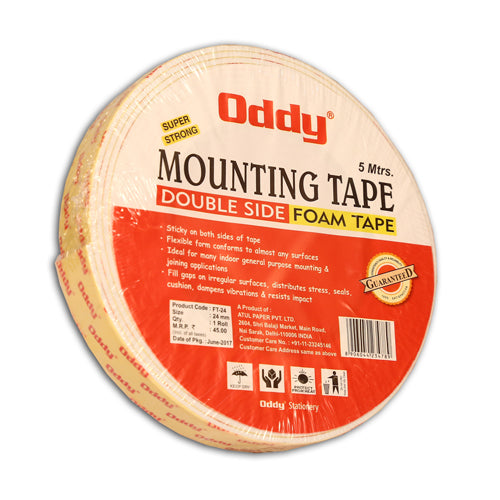 Oddy Mounting Tape Double Side (Foam Tape)