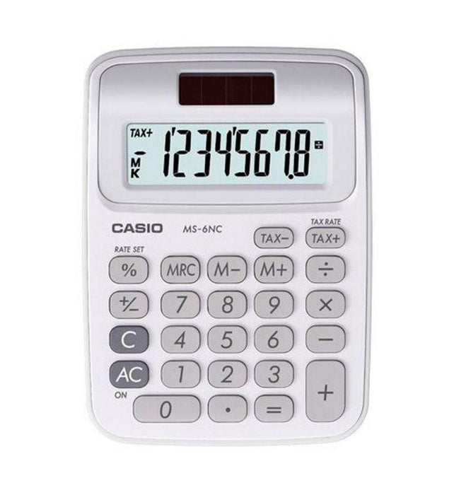 Casio Electronic Calculator- MS-6NC-WE