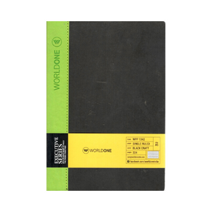 World one Executive Series notebook - A5 (single ruled)