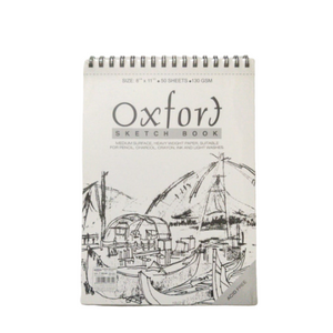 Oxfort Sketch book- 8 ¼ X 11½ (50 Sheets)