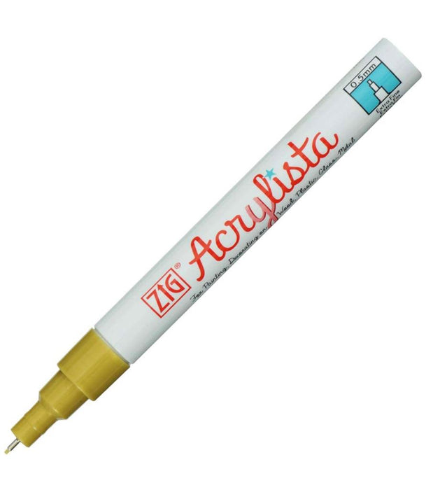 Zig acrylic fine marker set of 4