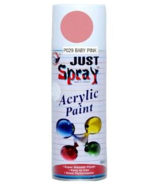 Just Spray Acrylic Paint ( P029 Baby Pink)