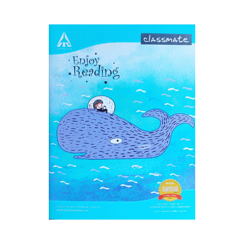 Classmate exercise book 24 x18cm- 172 pages (Pack of 5)