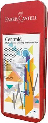 Faber-Castell Mathematical Instrument Box CENTROID