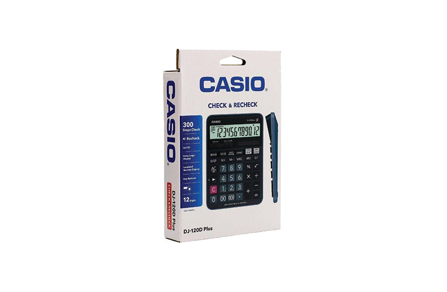 Casio Electronic Calculator- DJ-120D-Plus
