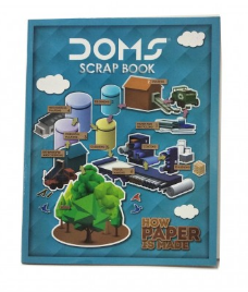 Doms Scrap book- 22x28 cm (32 pages)