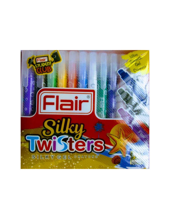 Flair Silky Twisters Gel Crayons