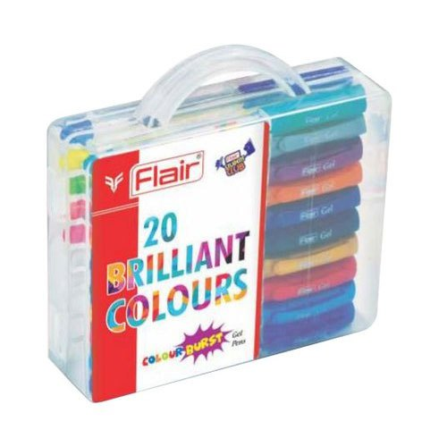 Flair Gel pens- (Pack of 20)