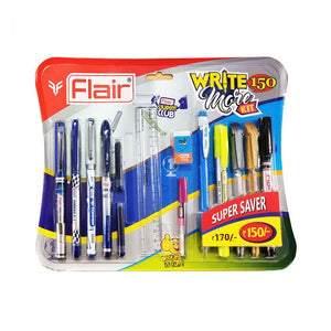 Flair Write more kit 150- Combo of assorted 14 pcs