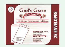 God's Grace Kraft Envelopes 12x10 inches