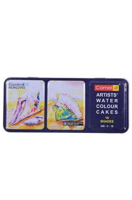 Camel Artist Water Colour Cakes (18 Shades )