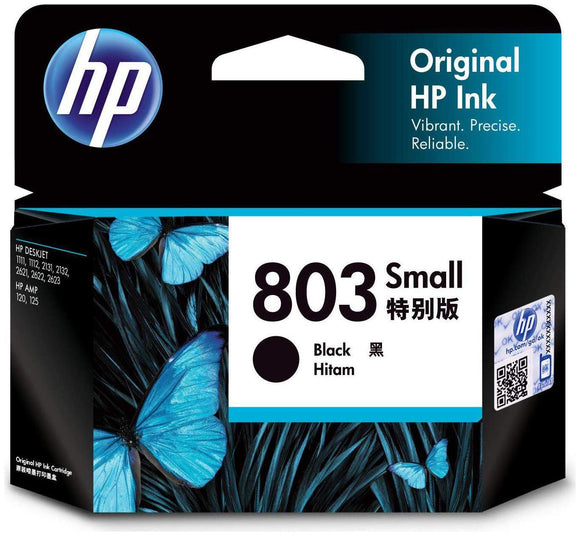 HP 803 BLACK CARTRIDGE (SMALL)