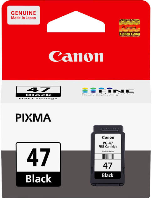 CANON PG-47 BLACK CARTRIDGE
