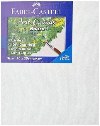 Faber-Castell Art Canvas Board 20x25cm (8x10)