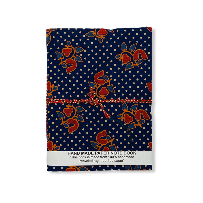 JAIPUR HAND MADE NOTE BOOK ( A5 CLOTH COVER 2 )