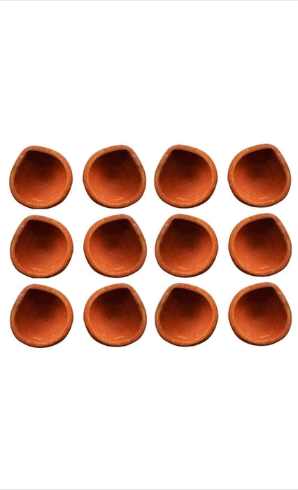 Mitti Diya Pack of 12