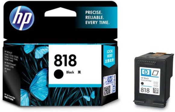 HP 818 BLACK CARTRIDGE