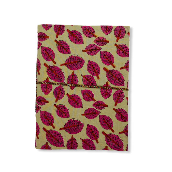 JAIPUR HAND MADE NOTE BOOK ( A5 CLOTH COVER 10 )