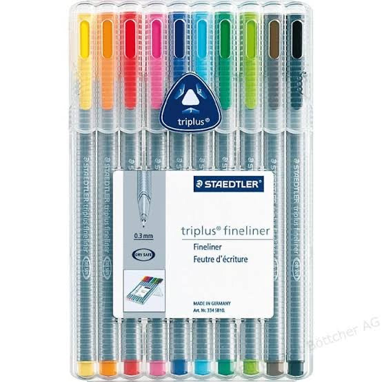 STAEDTLER TRIPLUS FINELINER (SET OF 10)